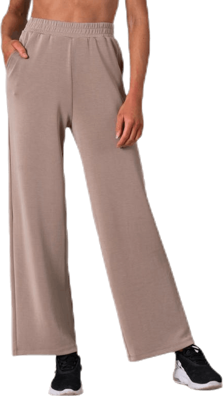 Gaia Wide Sweat Pant Swt White