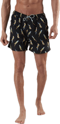 Aruba Swimshorts  Animal Black