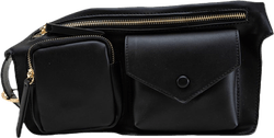 Una Pocket Bumbag Black