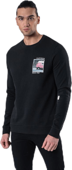 Quiver Sweat Crew Neck Black