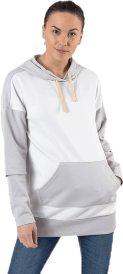Flora Long Hood Sweat Grey