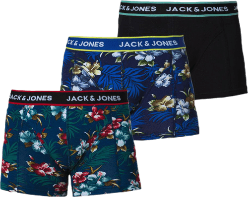 Flower Trunks 3 Pack Black