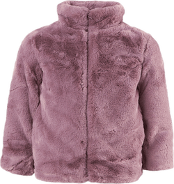 Mamy Faux Fur  Jacket Purple
