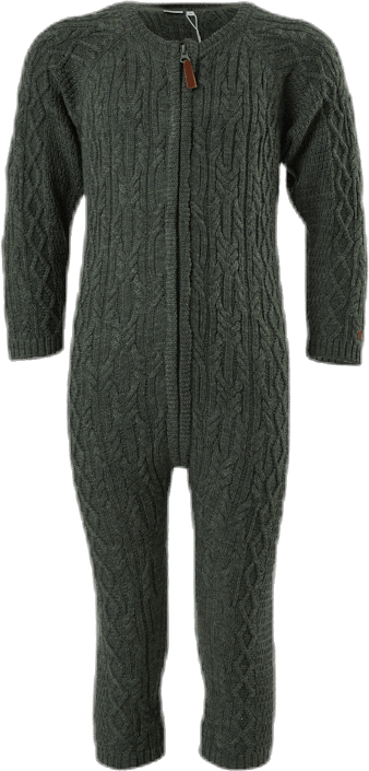 Wrilla Wool Ls Knit Suit Grey