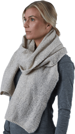 Lima Knit Long Scarf Beige