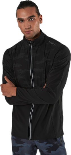 Doflan Reflective 4-Way Stretch Jacket Black