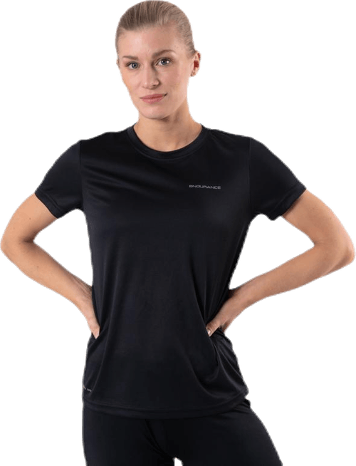 Vista S/S Performance Tee Black