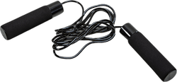 Jump Rope with Weight Black