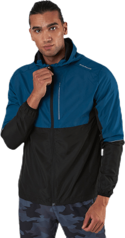 Thorow Running Jacket With Hood Blue