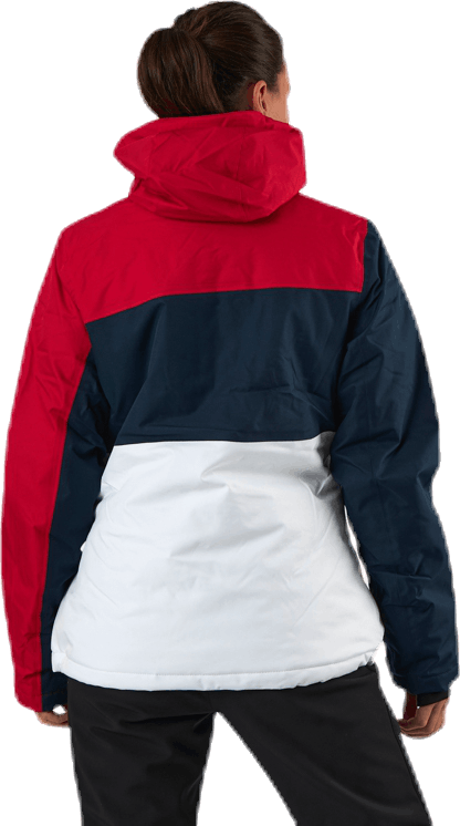 Kamille Ski Jacket W-PRO 10000 Blue/White/Red