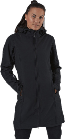 Zadie Long Softshell Jacket W-PRO 8000 Black