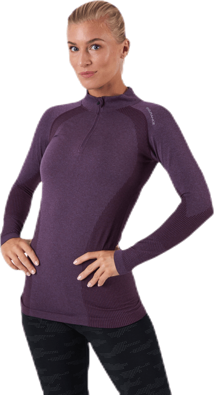 Halen Seamless Midlayer Purple