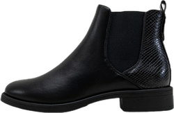 Bibi-17 Pu Elastic Boot Black