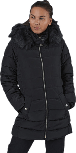 Camilla Quilted Coat Cc Otw Black