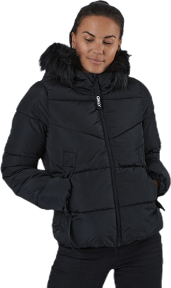Monica Short Puffer Jacket Cc Otw Black