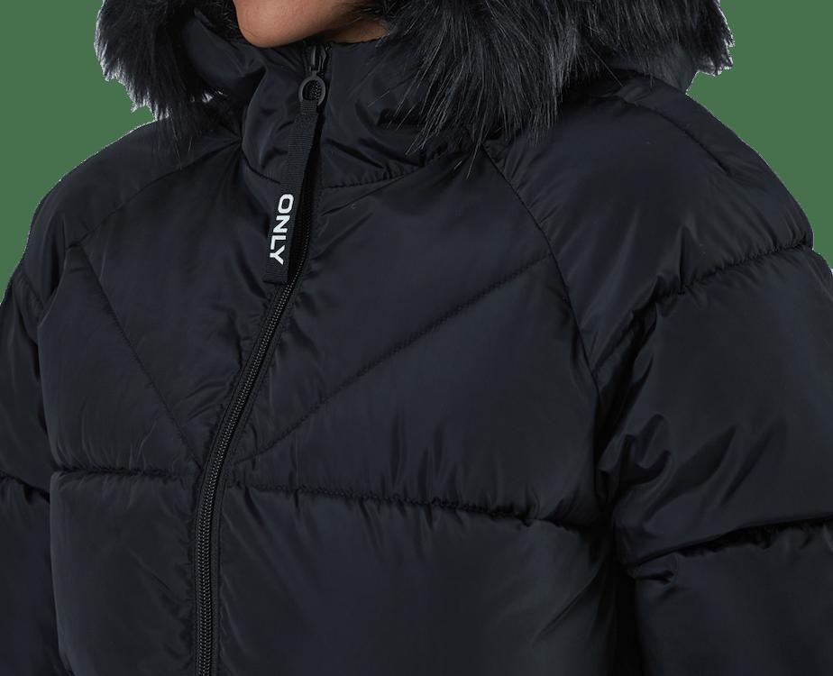 Monica Long Puffer Coat Cc Otw Black