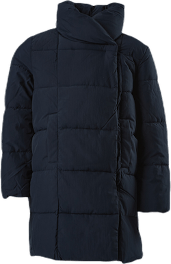 Dolly Long Puffer Coat Blue