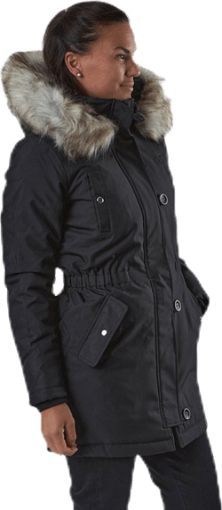 Iris Fur Winter Parka Cc Otw Black