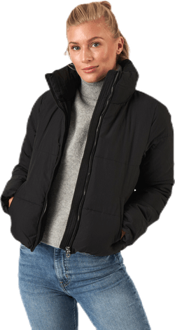 Dolly Short Puffer Jacket Otw Black