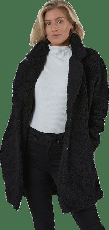 Aurelia Sherpa Coat Otw Black