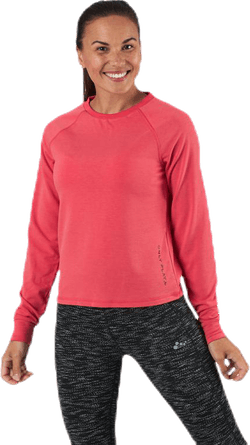 Performance Athl Ayn Ls Crew Neck Pink