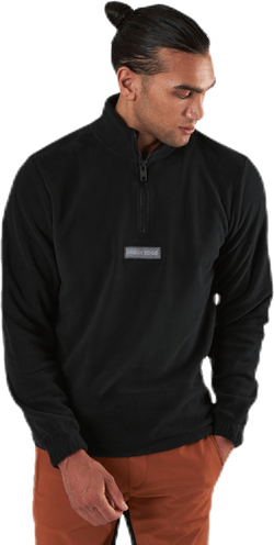 Polars Sweat Half Zip Black