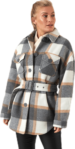 Selma Overshirt Jacket Grey