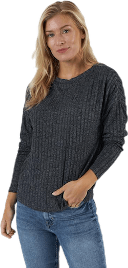 Kally Boatneck 4/5 Top Jrs Grey