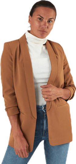 Elly 3/4 Life Blazer Tlr Brown