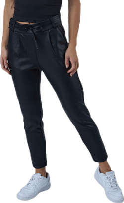 Poptrash Easy Coated Pant Pnt Black