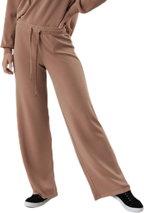Rise Mw Wide Pant Lounge Red