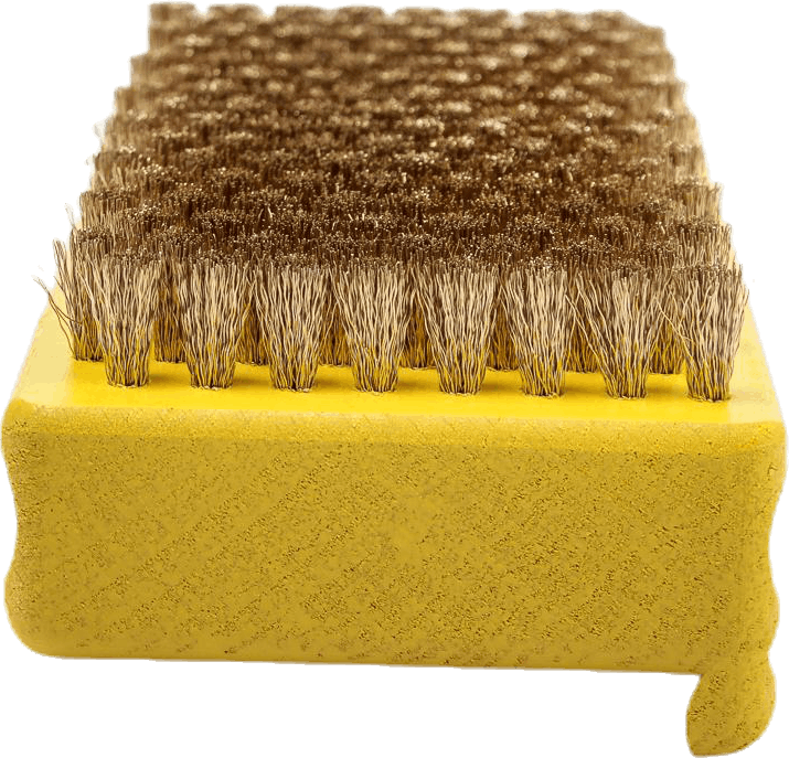 Brush Brass Yellow