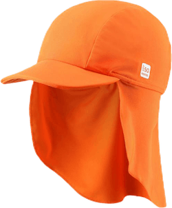Turtle Sunproof Recycled Sun Hat Orange