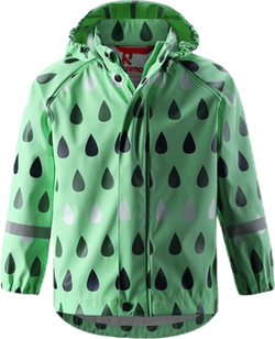 Vesi Raincoat White/Green