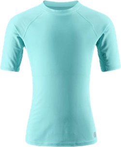 Camiguin Sunproof Recycled Swim Shirt Turquoise