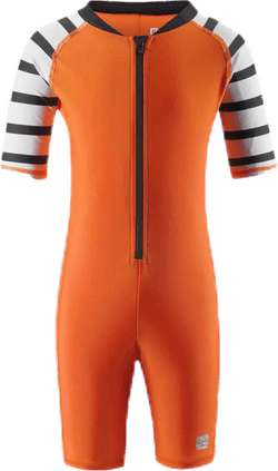 Galapagos Sunproof Recycled Swim Overall Orange