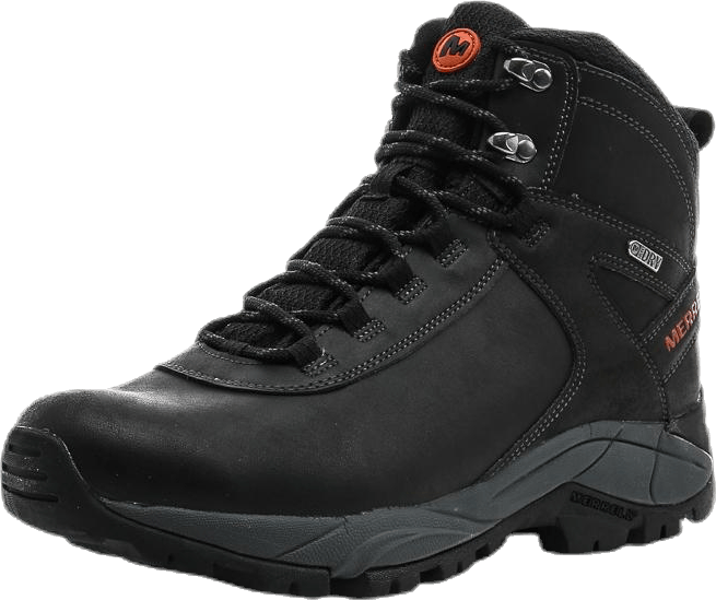 Vego Mid Leather WTPF Black