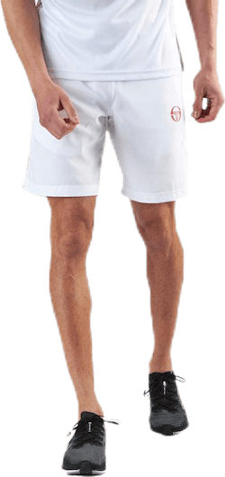 Club Tech Shorts White/Red