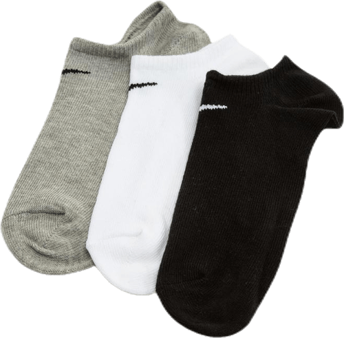 3-pack Lightweight No Show Black