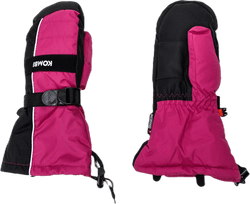 Storm Jr Mitt Down Wool Pink