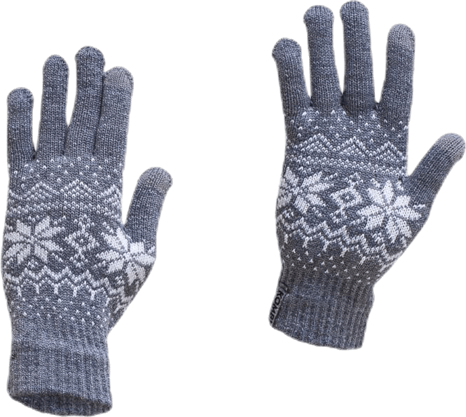 The Scandinave Power Point Glove Grey