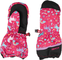 3 Seasons Child Mitt Pink