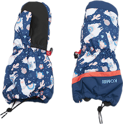 3 Seasons Child Mitt Blue