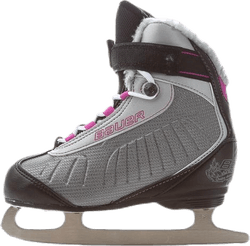 Fast Rec Ice Skate Girls Grey