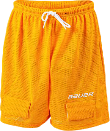 Bauer Core Mesh Jock Short Orange