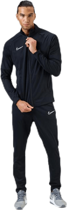 Academy Track Suit White/Black