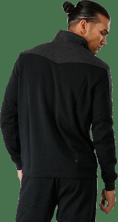 Premium Fleece 1/4 Zip Black