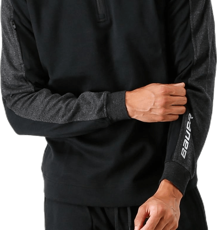 Premium Fleece 1/4 Zip Black