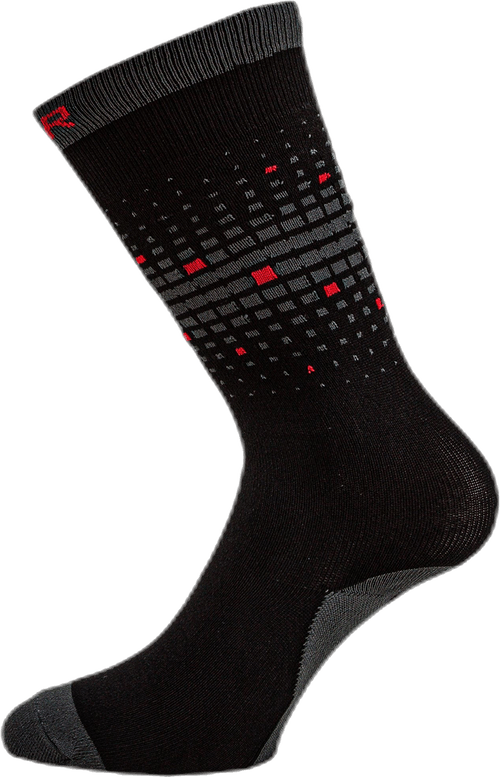 Essential Tall Skate Sock Black