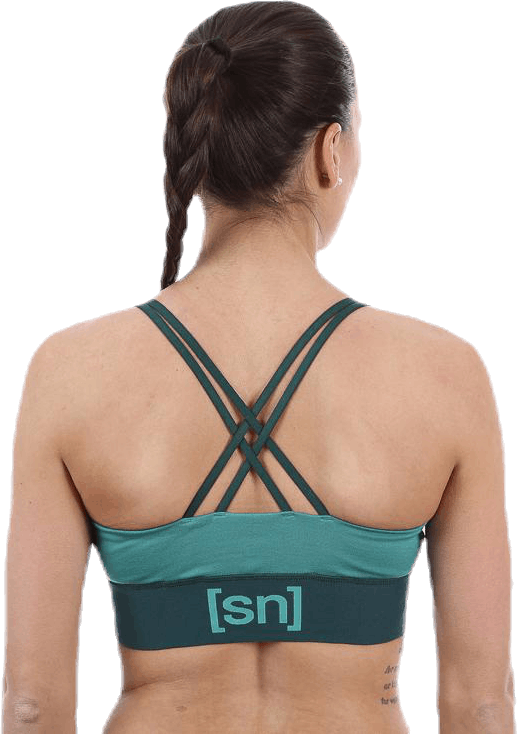 Motion Yoga Bra Green
